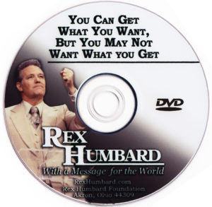 "Sermon: ""You Can Get What You Want, But You May Not Want What You Get"" (DVD)"