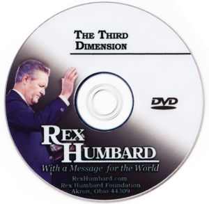 "Sermon: ""The Third Dimension"" (DVD)"