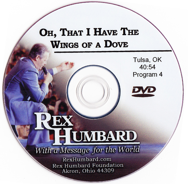 "Sermon: ""Oh, That I Have the Wings of a Dove"" (DVD)"
