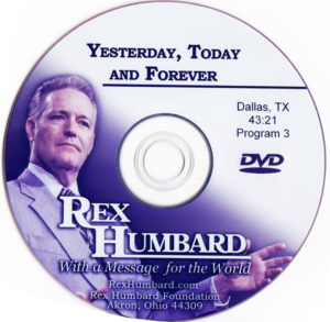 "Sermon: ""Yesterday, Today and Forever"" (DVD)"