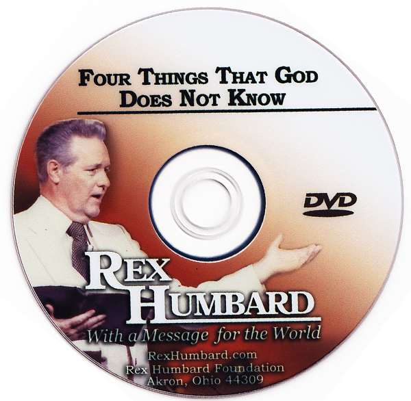 "Sermon: ""Four Things That God Does Not Know"" (DVD)"