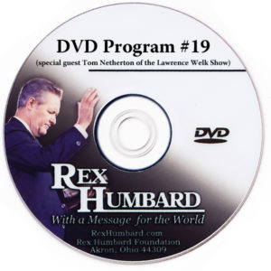 Rex Humbard TV Program DVD