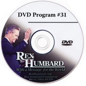 Rex Humbard TV Program DVD