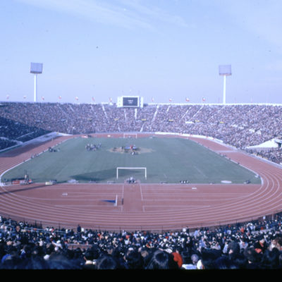 Santiago Chile 100,000 people