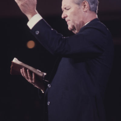 Rex Leading the Sinners Prayer
